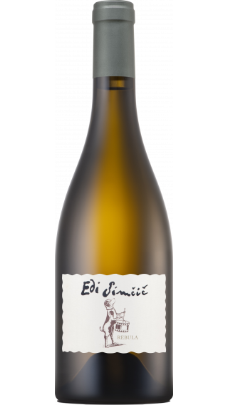 Bottle of Edi Simcic Rebula 2017 wine 750 ml