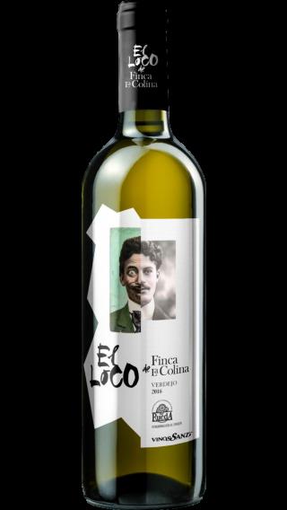 Bottle of Vinos Sanz Finca La Colina El Loco 2017 wine 750 ml