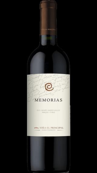 Bottle of El Principal Memorias 2015 wine 750 ml