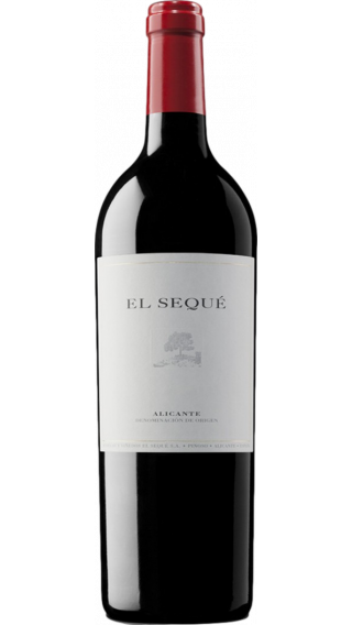 Bottle of Artadi El Seque 2016 wine 750 ml