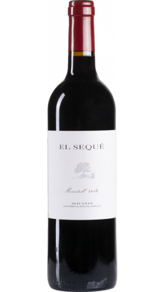 Bottle of Artadi El Seque 2018 wine 750 ml