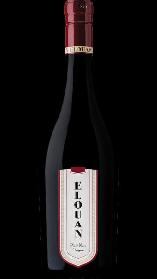 Bottle of Elouan Pinot Noir 2016 wine 750 ml