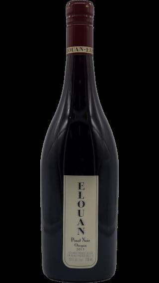 Bottle of Elouan Pinot Noir 2013 wine 750 ml