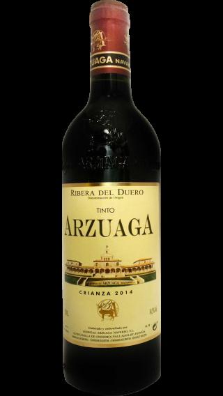 Bottle of Arzuaga Crianza 2014 wine 750 ml