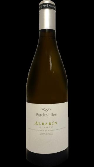Bottle of Pardevalles Albarin 2016 wine 750 ml