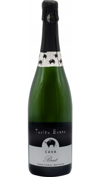 Bottle of Torito Bravo Cava wine 750 ml