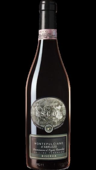 Bottle of San Lorenzo Escol Montepulciano d'Abruzzo Riserva 2013 wine 750 ml