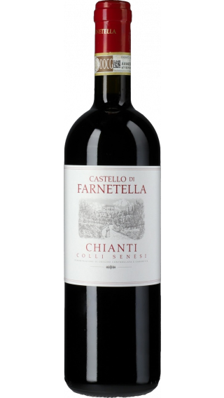 Bottle of Felsina Chianti Colli Senesi Farnetella 2016 wine 750 ml