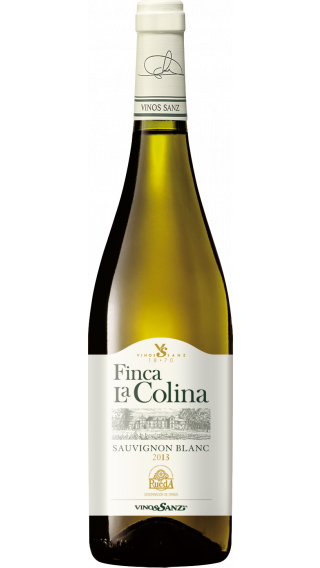 Bottle of Vinos Sanz Finca La Colina Sauvignon Blanc 2019 wine 750 ml