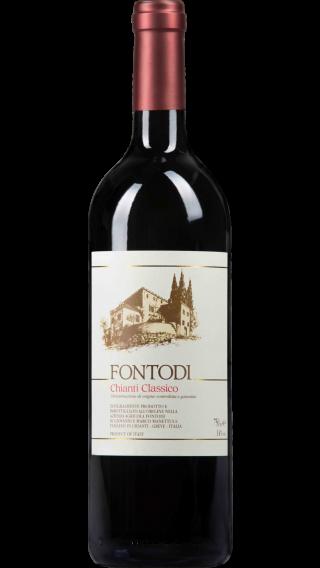 Bottle of Fontodi Chianti Classico 2016 wine 750 ml