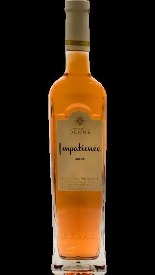 Bottle of Chateau de Berne Impatience Rose Cotes de Provence 2016 wine 750 ml