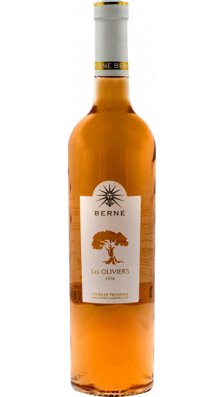 Bottle of Chateau de Berne Les Oliviers Rose Cotes de Provence 2016 wine 750 ml