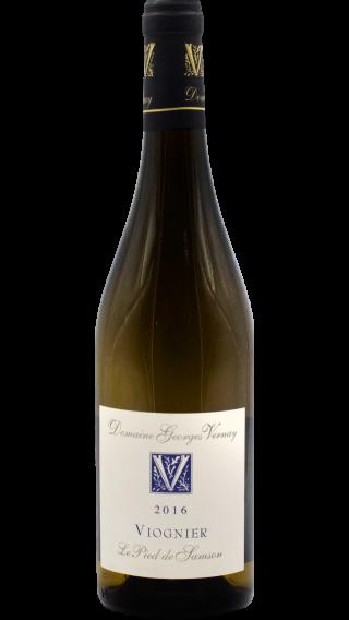 Bottle of Georges Vernay Viognier Le Pied de Samson 2017 wine 750 ml