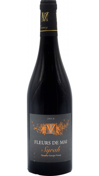 Bottle of Georges Vernay Syrah Fleurs de Mai 2017 wine 750 ml
