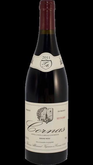 Bottle of Thierry Allemand Reynard Cornas 2011 wine 750 ml