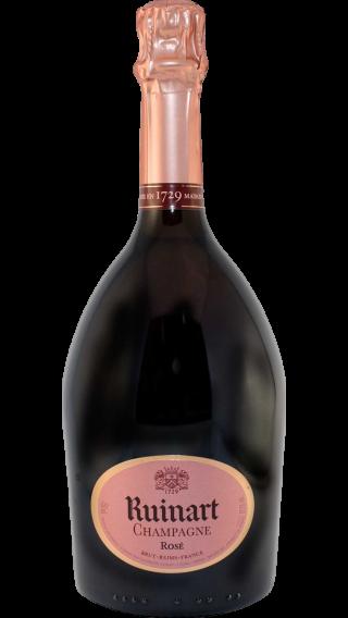 Bottle of Ruinart Ros̩e wine 750 ml
