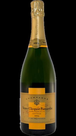 Bottle of Veuve Clicquot Vintage 2004 wine 750 ml