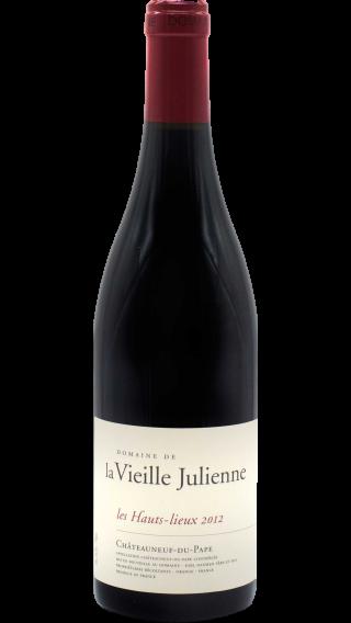 Bottle of Vieille Julienne Chateauneuf du Pape les Hauts Lieux 2012 wine 750 ml
