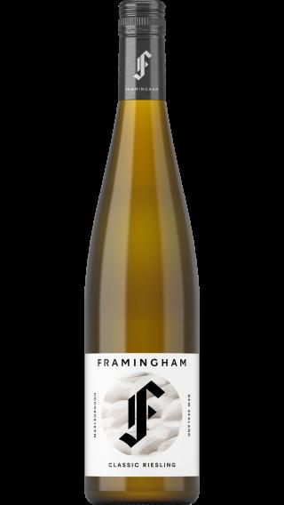 Bottle of Framingham Classic Riesling 2015 wine 750 ml