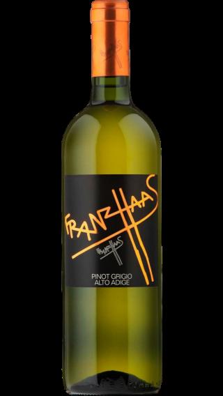 Bottle of Franz Haas  Pinot Grigio 2018 wine 750 ml
