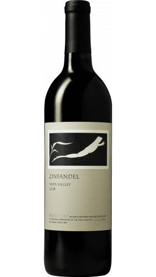 Bottle of Frog's Leap Zinfandel 2018 wine 750 ml