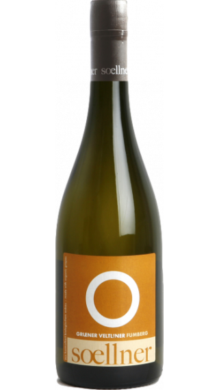 Bottle of Soellner Ried Fumberg Gruner Veltliner 2017 wine 750 ml