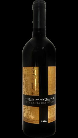 Bottle of Gaja Pieve Santa Restituta Brunello di Montalcino 2015 wine 750 ml