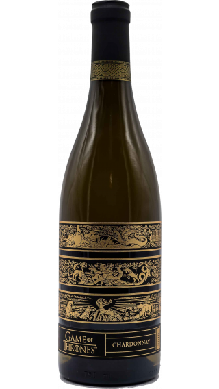 Bottle of Game of Thrones Chardonnay 2016 wine 750 ml