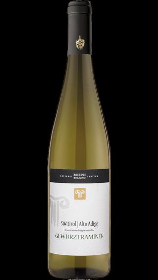 Bottle of Kellerei Bozen Gewurztraminer 2017 wine 750 ml