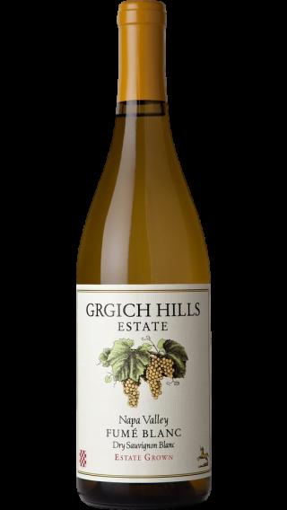 Bottle of Grgich Hills Fume Blanc 2017 wine 750 ml
