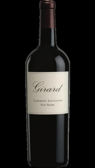 Bottle of Girard Cabernet Sauvignon 2017 wine 750 ml