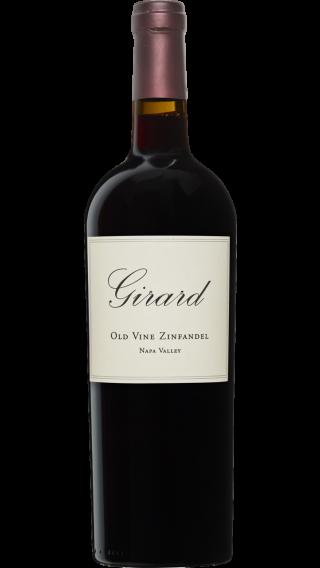 Bottle of Girard Old Vine Zinfandel 2016 wine 750 ml