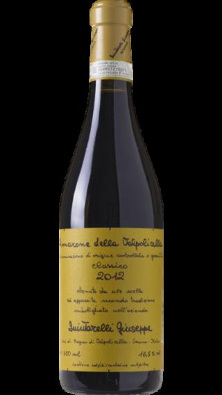 Bottle of Quintarelli Amarone della Valpolicella Classico 2012 wine 750 ml