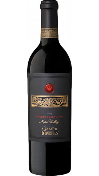Bottle of Game of Thrones Cabernet Sauvignon 2015 wine 750 ml