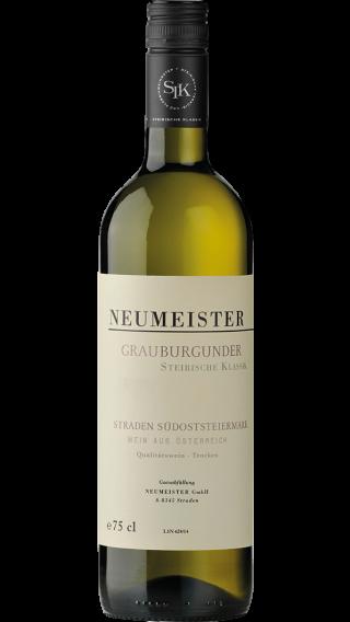 Bottle of Neumeister Grauburgunder Steirische Klassik 2017 wine 750 ml
