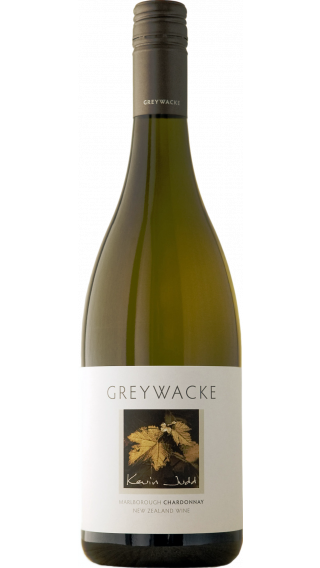 Bottle of Greywacke Chardonnay 2015 wine 750 ml