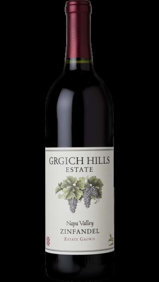 Bottle of Grgich Hills Zinfandel 2015 wine 750 ml
