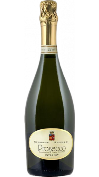 Bottle of Rizzardi Prosecco Extra Dry wine 750 ml