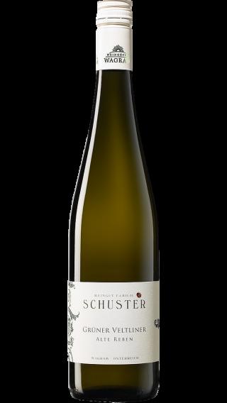 Bottle of Schuster Gruner Veltliner Alte Reben 2019 wine 750 ml