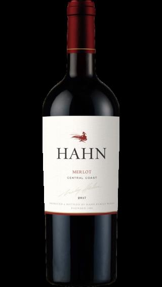 Bottle of Hahn Merlot 2017 wine 750 ml