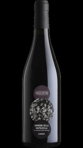 Bottle of Paolo Cottini Amarone della Valpolicella 2015 wine 750 ml