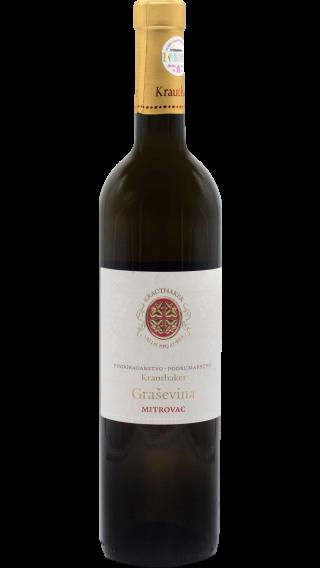 Bottle of Krauthaker Grasevina Mitrovac 2016 wine 750 ml