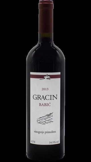 Bottle of Suha Punta Gracin Babic  2013 wine 750 ml