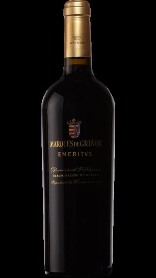Bottle of Marques de Grinon Emeritus 2011 wine 750 ml