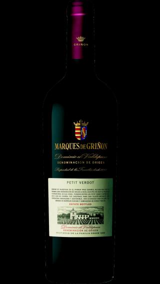Bottle of Marques de Grinon Petit Verdot 2014 wine 750 ml