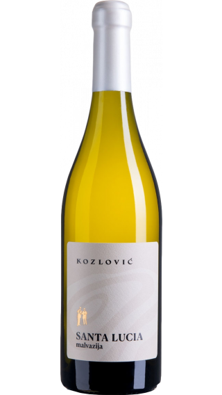 Bottle of Kozlovic Santa Lucia Malvazija 2016 wine 750 ml