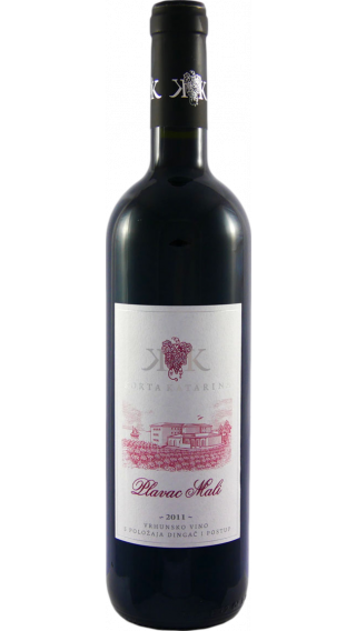 Bottle of Korta Katarina Plavac Mali 2011 wine 750 ml