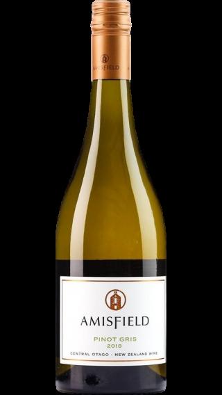 Bottle of Amisfield Pinot Gris 2019 wine 750 ml