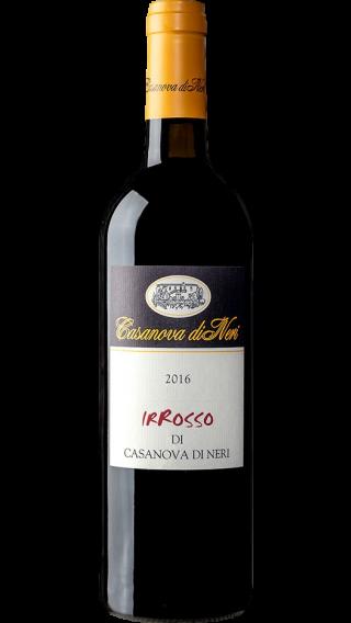 Bottle of Casanova Di Neri Irrosso 2016 wine 750 ml