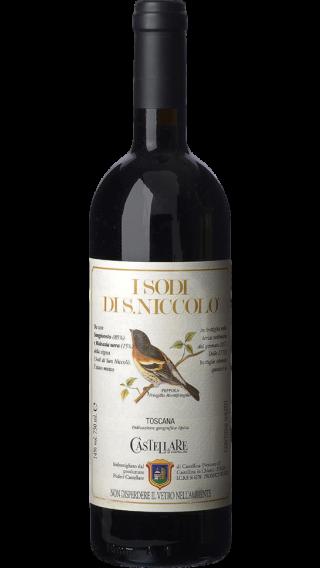 Bottle of Castellare di Castellina I Sodi Di San Niccolo 2013 wine 750 ml